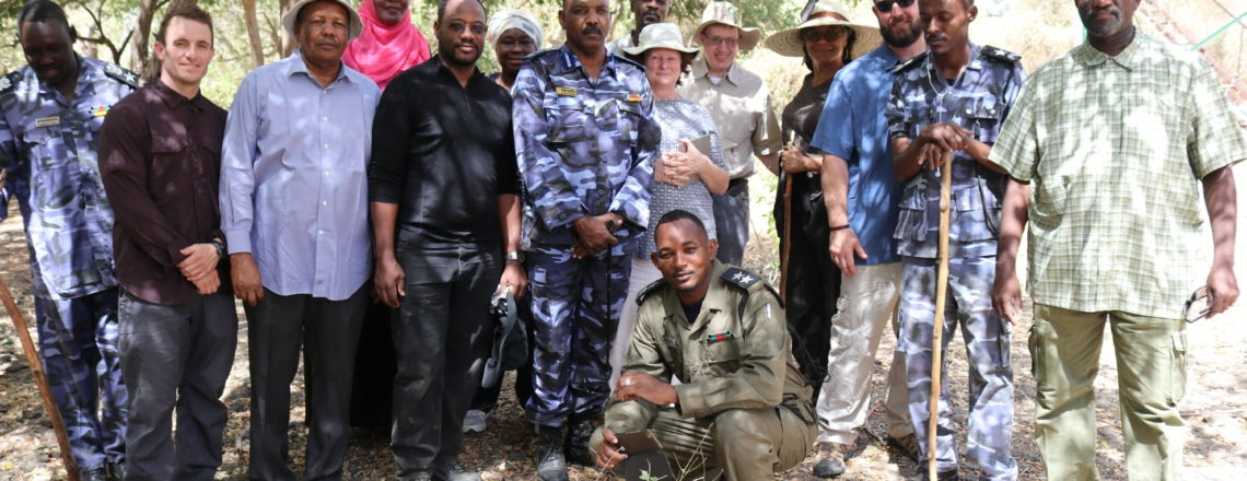 First Embassy Visit to Dinder National Park since 2011