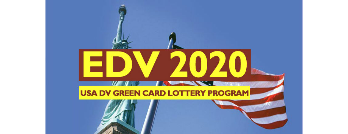 DV-2020 Program announcement: Online Registration